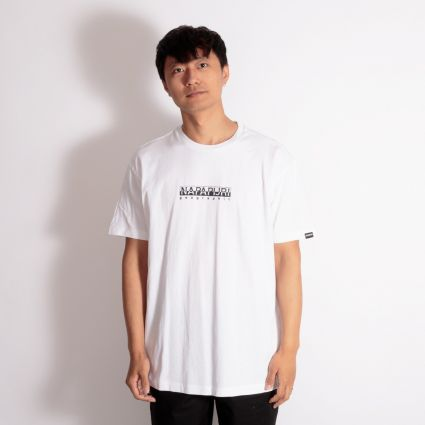 Napapijri Box T-Shirt Bright White