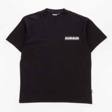 Napapijri Haena Short Sleeve T-Shirt Black