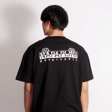 Napapijri Jurassic Short Sleeve T-Shirt Black