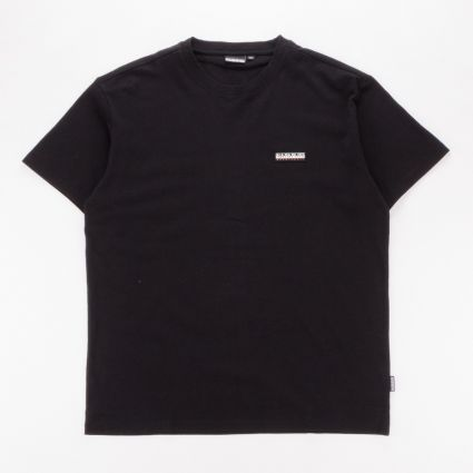 Napapijri Patch Short Sleeve T-Shirt Black