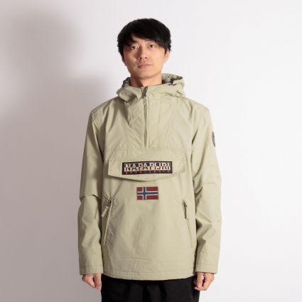 Napapijri Rainforest Jacket Silver Sage