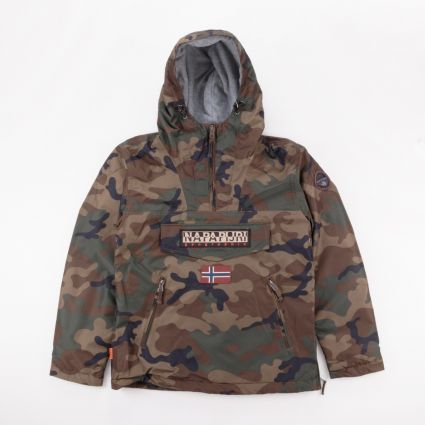 Napapijri Rainforest Pocket Print Jacket Camouflage1