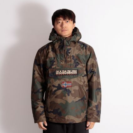 Napapijri Rainforest Pocket Print Jacket Camouflage