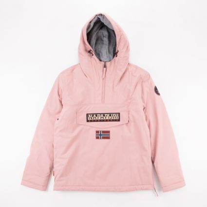 Napapijri Rainforest Winter Jacket Pink Woodrose1