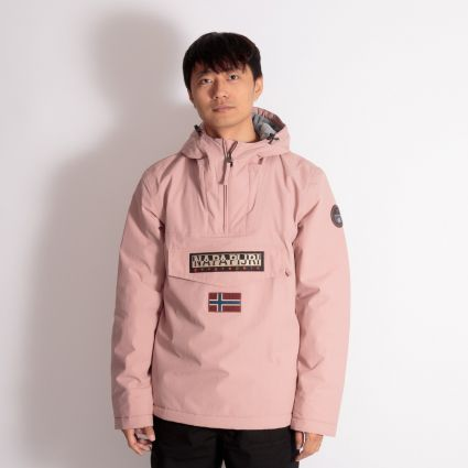 Napapijri Rainforest Winter Jacket Pink Woodrose