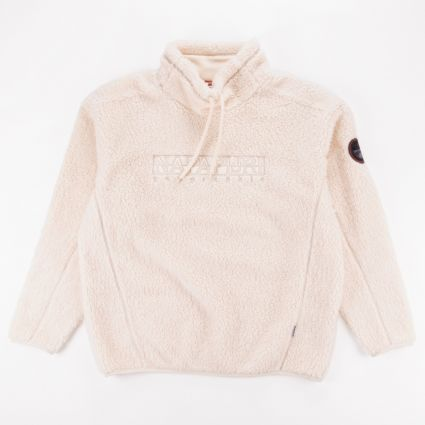 Napapijri Teide Fleece Whitecap Grey1