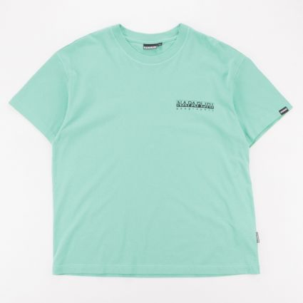 Napapijri Yoik T-Shirt Green Dusty1