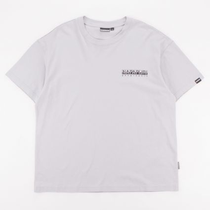 Napapijri Yoik T-Shirt Grey Harbor1