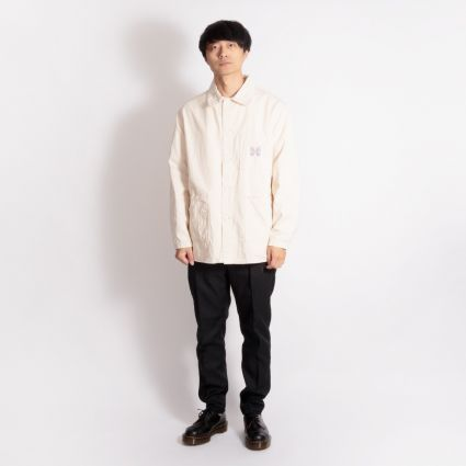 Needles D.N. Coverall Off White