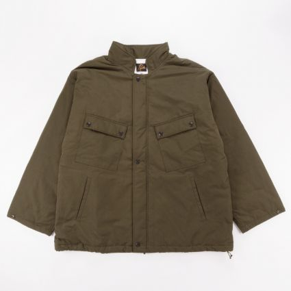 Needles Peach Weather C.P. Jacket Olive1