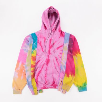 Needles Rebuild 5 Cuts Tie Dye Hoodie (M2) Assorted1