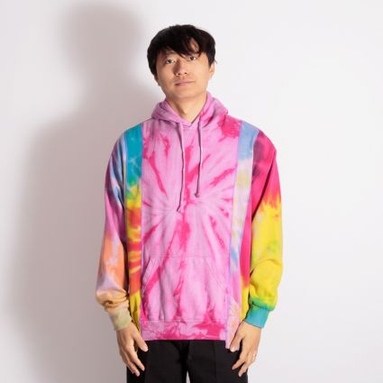 Needles Rebuild 5 Cuts Tie Dye Hoodie (M2) Assorted