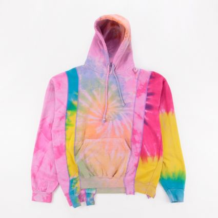 Needles Rebuild 5 Cuts Tie Dye Hoodie (M) Assorted1