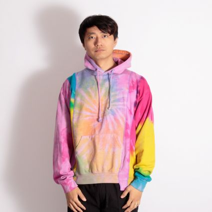 Needles Rebuild 5 Cuts Tie Dye Hoodie (M) Assorted