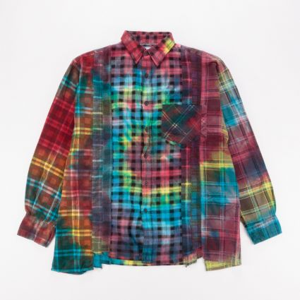 Needles Rebuild 7 Cuts Flannel Shirt (L1) Assorted1