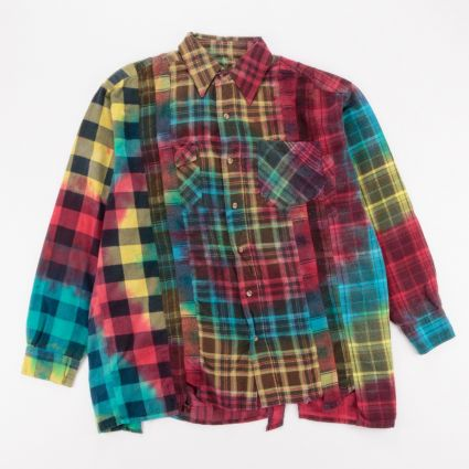 Needles Rebuild 7 Cuts Flannel Shirt (L2) Assorted1