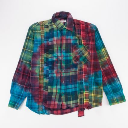 Needles Rebuild 7 Cuts Flannel Shirt (M) Assorted1