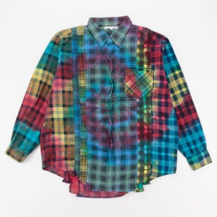 Needles Rebuild 7 Cuts Flannel Shirt (XL) Assorted1