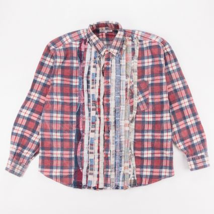 Needles Rebuild Flannel Ribbon Shirt (L1) Assorted1