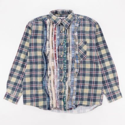 Needles Rebuild Flannel Ribbon Shirt (L2) Assorted1