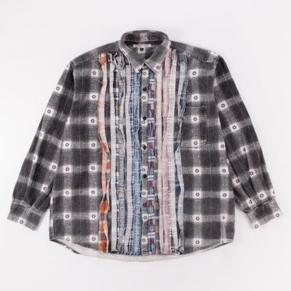Needles Rebuild Flannel Ribbon Shirt (L2) Assorted