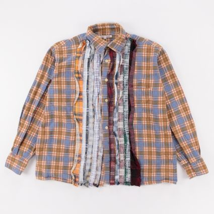 Needles Rebuild Flannel Ribbon Shirt (M1) Assorted