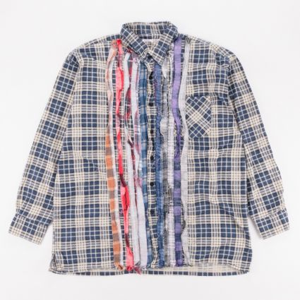 Needles Rebuild Flannel Ribbon Shirt (XL1) Assorted1