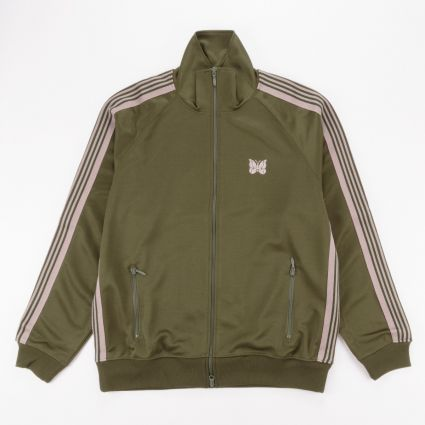 Needles Track Jacket Olive1