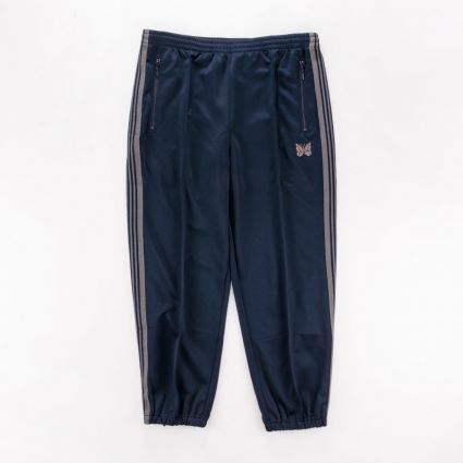 Needles Zipped Track Pant Poly Smooth Navy1