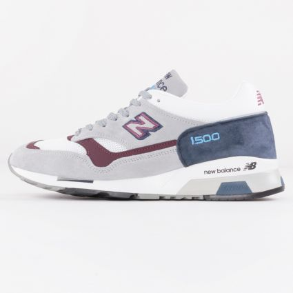 New Balance 1500 Made in England Grey/Navy/Burgundy M1500NBR-1