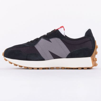 New Balance 327 Black Castlerock1