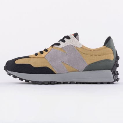 New Balance 327 Patchwork Pack Olive1