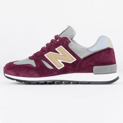 New Balance 670 Made in England Burgundy M670BGW-1