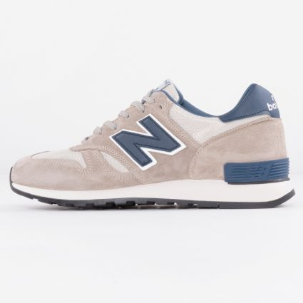 New Balance 670 Original Runners Club Made in England Grey/Navy M670ORC-1