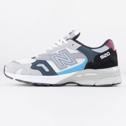 New Balance 920 Made in England Grey/Navy/Burgandy M920NBR-1