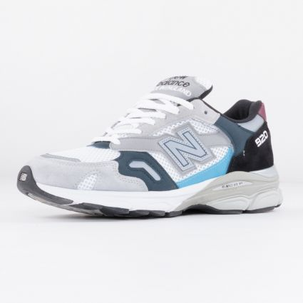 New Balance 920 Made in England Grey/Navy/Burgandy M920NBR