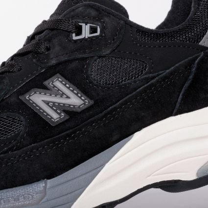 New Balance 992 Made in USA Black M992BL