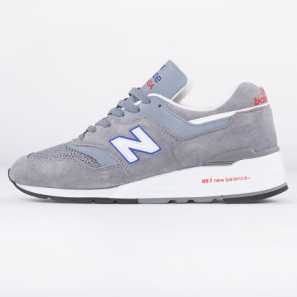New Balance 997 Made in USA Grey/Blue/Red M997CNR1