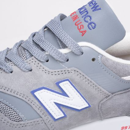 New Balance 997 Made in USA Grey/Blue/Red M997CNR