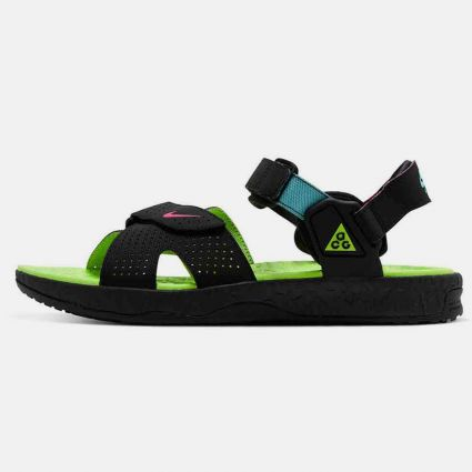 Nike ACG Deschutz Sandals Black/Digital Pink-Ghost Green CT2890-004