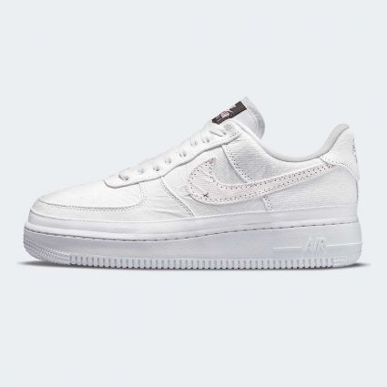 Nike Womens Air Force 1 07 Premium 'Calm' Tearaway Fauna Brown/Arctic Punch-Pale Vanilla DJ9941-244