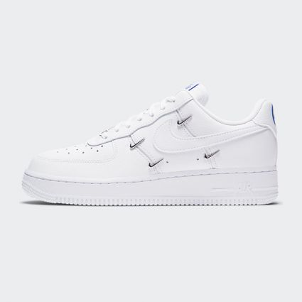 Nike Air Force 1 07 LX White/White-Hyper Royal-Black CT1990-100