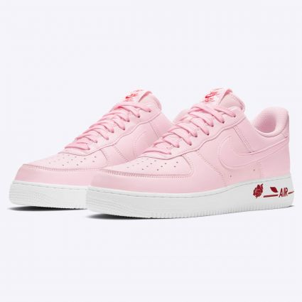 Nike Air Force 1 07 LX Pink Foam/Pink Foam-University Red CU6312-600