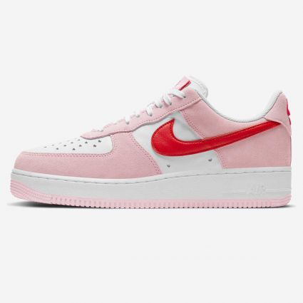 Nike Air Force 1 07 QS 'Valentines' Tulip Pink DD3384-600
