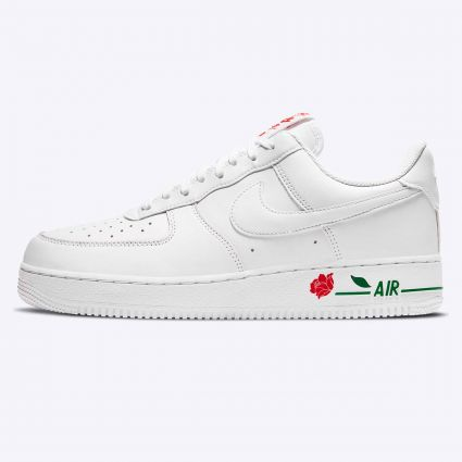 Nike Air Force 1 07 LX White/White-University Red-Pine Green CU6312-100
