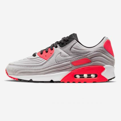 Nike Air Max 90 QS Night Silver/Night Silver-Bright Crimson CZ7656-001