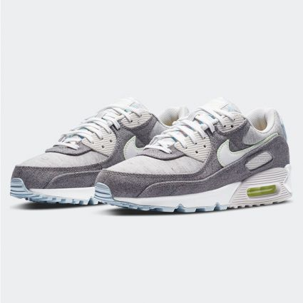 Nike Air Max 90 NRG Vast Grey/White-Barely Volt CK6467-001