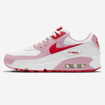 Nike Air Max 90 'Valentine' QS White/University Red DD8029-100