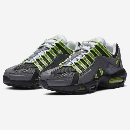 Nike Air Max 95 NDSTRKT Black/Neon Yellow-Medium Grey CZ3591-002