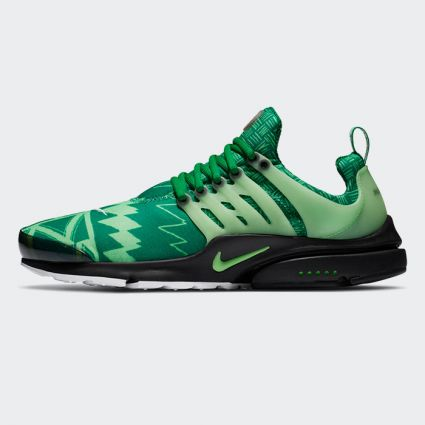 Nike Air Presto 'Nigeria' Pine Green/Green Strike-Black-White CJ1229-300